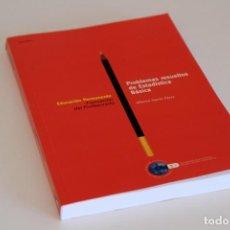 Libros de segunda mano de Ciencias: ALFONSO GARCÍA PÉREZ. PROBLEMAS RESUELTOS DE ESTADÍSTICA BÁSICA. UNED, MADRID, 1999. Lote 61562604
