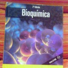 Libros de segunda mano: BIOQUIMICA 3ª EDICIÓN ADDISON WESLEY.PARA BIOLOGIA.MEDICINA.FARMACIA. Lote 62782852