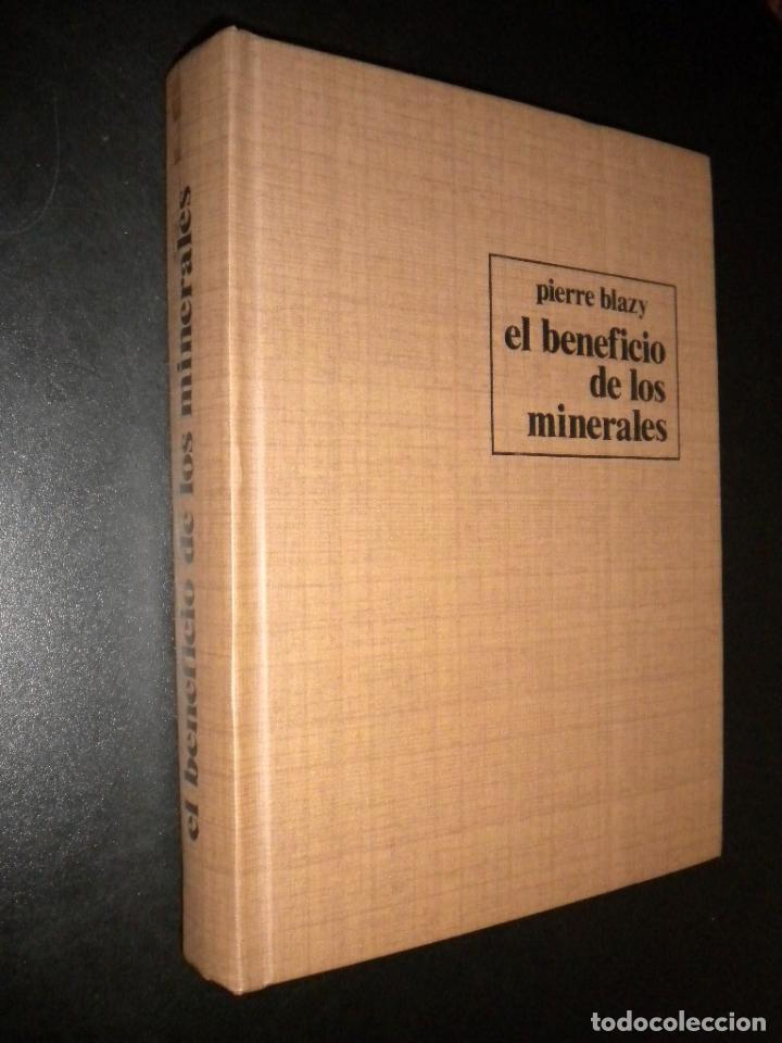 EL BENEFICIO DE LOS MINERALES / PIERRE BLAZY (Libros de Segunda Mano - Ciencias, Manuales y Oficios - Paleontología y Geología)