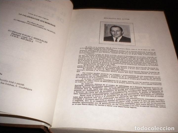 Libros de segunda mano: el beneficio de los minerales / pierre blazy - Foto 2 - 62999816