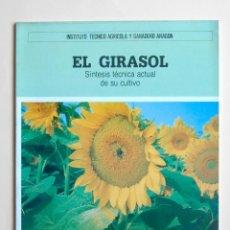 Libros de segunda mano: A306.- EL GIRASOL.- INSTITUTO TECNICO AGRICOLA Y GANADERO ARAGON. Lote 63574912