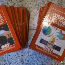 Libros de segunda mano de Ciencias: BIBLIOTECA DE DIVULGACION CIENTIFICA MUY INTERESANTE: LOTE DE 27 TOMOS. Lote 64017139