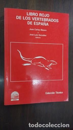 Libros de segunda mano: libro rojo de los vertebrados de España - Foto 2 - 167142642