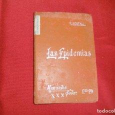 Livres d'occasion: Nº 30 - MANUALES SOLER - LAS EPIDEMIAS POR FEDERIDO MONTALDO. Lote 64453327