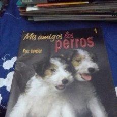 Libros de segunda mano: FASCICULOS, MIS AMIGOS LOS PERROS FOX TERRIER. 1. PLANETA DE AGOSTINI. EST1B3. Lote 66915214