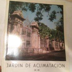 Libros de segunda mano: ANTIGUO LIBRO JARDIN DE ACLIMATACION DE LA OROTAVA TENERIFE ISLAS CANARIAS AÑO 1980 . Lote 66932618