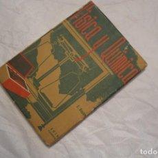 Libros de segunda mano de Ciencias: FISICA Y QUIMICA 1940. Lote 67295453