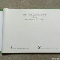 Libros de segunda mano: ATLAS HIDROGEOLOGICO DE LA PROVINCIA DE JAEN INSTITUTO GEOLOGICO MINERO ESPAÑA. Lote 67448851
