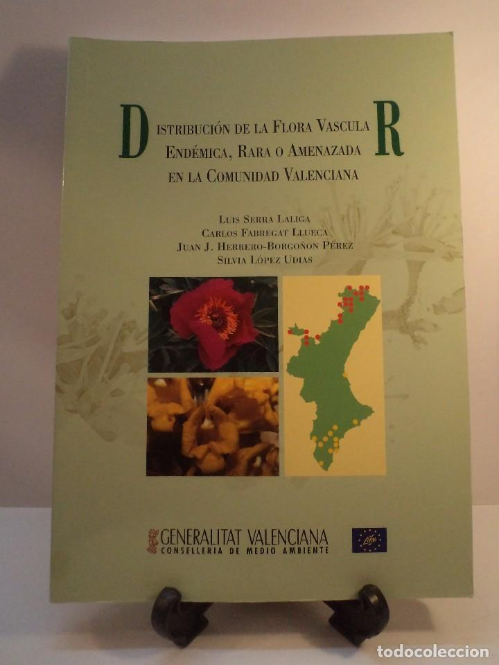 Distribuci n de la flora vascular end mica rar comprar - Libreria segunda mano valencia ...