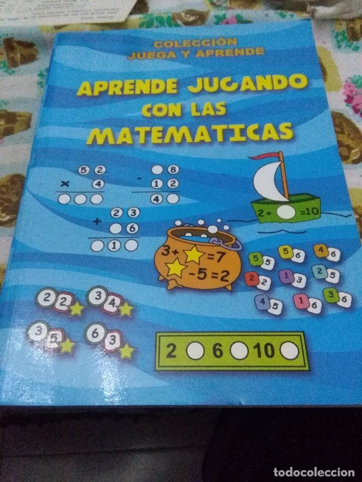 APRENDE JUGANDO CON LAS MATEMÁTICAS. COLECCIÓN JUEGA Y APRENDE. EST22B5 (Libros de Segunda Mano - Ciencias, Manuales y Oficios - Física, Química y Matemáticas)