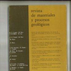 Libros de segunda mano: REVISTA DE MATERIALES Y PROCESOS GEOLÓGICOS 2-1984. FACULTAD DE CIENCIAS GEOLÓGICAS. Lote 68496181