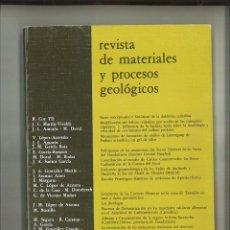 Libros de segunda mano: REVISTA DE MATERIALES Y PROCESOS GEOLÓGICOS 3-1985. FACULTAD DE CIENCIAS GEOLÓGICAS. Lote 68504713