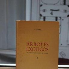 Libros de segunda mano: ARBOLES EXOTICOS.LOS ARBOLES CULTIVADOS EN GRAN CANARIA I, G. KUNKEL. CANARIAS 1969. Lote 69014853