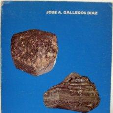 Livros em segunda mão: JOSÉ A. GALLEGOS DÍAZ - CLAVES MINERALÓGICAS. GRANADA, 1977,. Lote 69284857