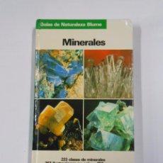 Libros de segunda mano: MINERALES. GUIAS DE LA NATURALEZA BLUME. 1994. OLAF MEDENBACH. CORNELIA SUSSIECK. TDKLT. Lote 69368069