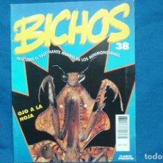 Libros de segunda mano: FASCICULO BICHOS Nº 38 - PLANETA DEAGOSTINI 1994. Lote 70043013