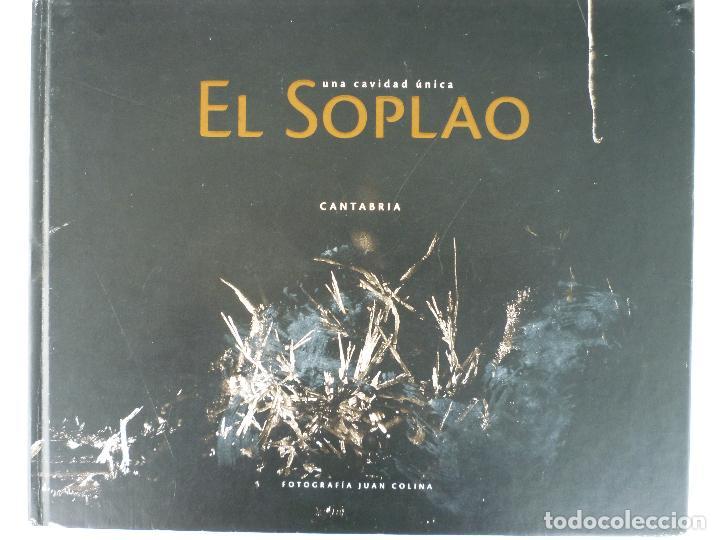Libros de segunda mano: UNA CAVIDAD ÚNICA - EL SOPLAO - CANTABRIA - EN SU ESTUCHE ORIGINAL - Foto 2 - 70070725