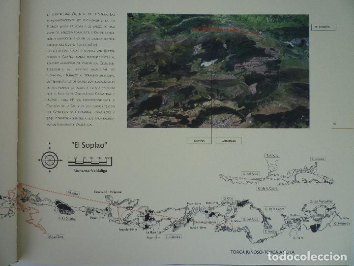 Libros de segunda mano: UNA CAVIDAD ÚNICA - EL SOPLAO - CANTABRIA - EN SU ESTUCHE ORIGINAL - Foto 3 - 70070725