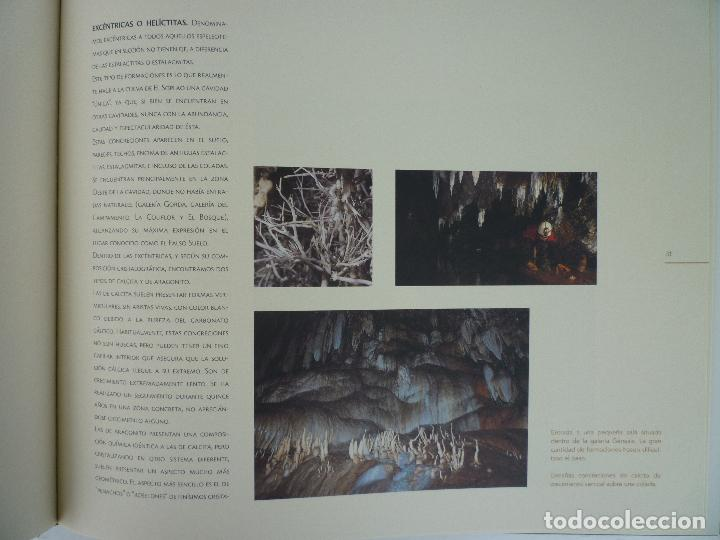 Libros de segunda mano: UNA CAVIDAD ÚNICA - EL SOPLAO - CANTABRIA - EN SU ESTUCHE ORIGINAL - Foto 4 - 70070725