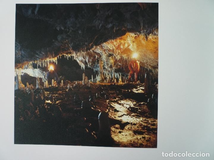 Libros de segunda mano: UNA CAVIDAD ÚNICA - EL SOPLAO - CANTABRIA - EN SU ESTUCHE ORIGINAL - Foto 6 - 70070725