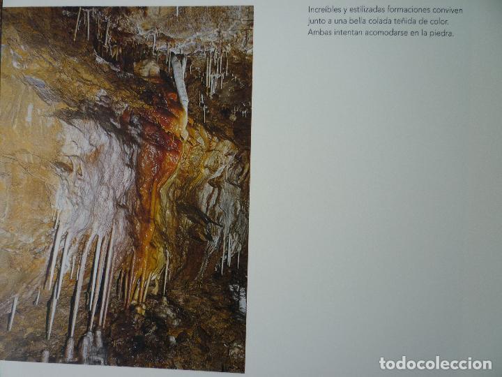 Libros de segunda mano: UNA CAVIDAD ÚNICA - EL SOPLAO - CANTABRIA - EN SU ESTUCHE ORIGINAL - Foto 8 - 70070725