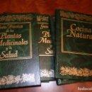 Libros de segunda mano: GUIA PRACTICA DE LAS PLANTAS MEDICINALES Y LA SALUD-COCINA NATURAL. COMPLETA EN 6 TOMOS.30X22,. Lote 70101013