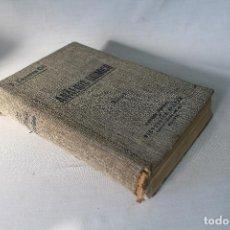 Libros de segunda mano de Ciencias: ANALISIS QUIMICO- TOMO I - ANALISIS CUALITATIVO MINERAL - JOSE CASARES GIL-1933 . Lote 70276561