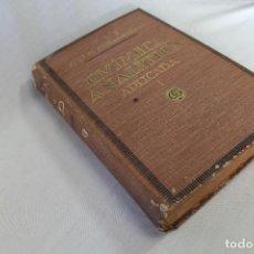 Libros de segunda mano de Ciencias: TRATADO DE QUIMICA ANALITICA APLICADA - TOMO I, TOMO II - VICTOR VILLAVECCHIA -1918. Lote 70279445