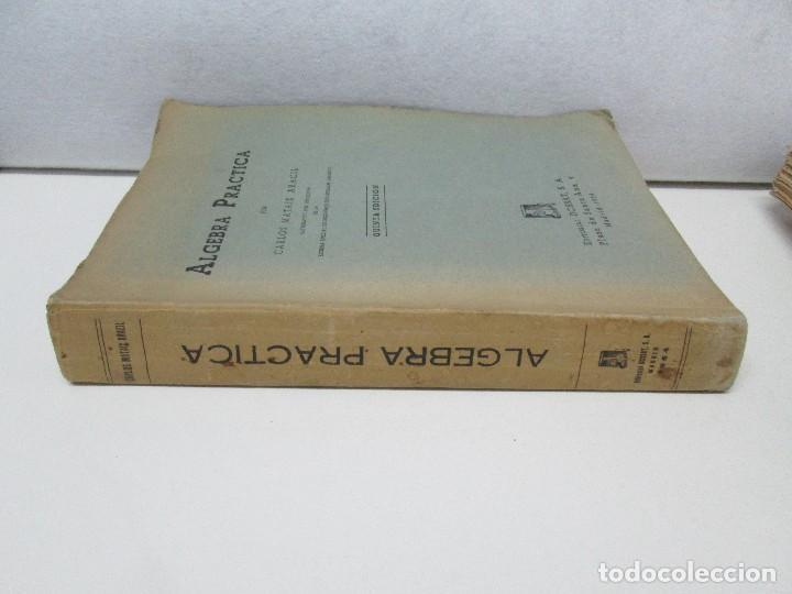 Libros de segunda mano de Ciencias: ALGEBRA PRACTICA. CARLOS MATAIX ARACIL. QUINTA EDICION. EDITORIAL DOSSAT - Foto 2 - 70320597
