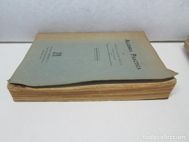 Libros de segunda mano de Ciencias: ALGEBRA PRACTICA. CARLOS MATAIX ARACIL. QUINTA EDICION. EDITORIAL DOSSAT - Foto 4 - 70320597