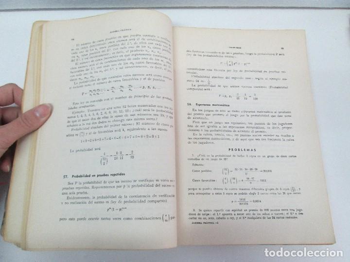 Libros de segunda mano de Ciencias: ALGEBRA PRACTICA. CARLOS MATAIX ARACIL. QUINTA EDICION. EDITORIAL DOSSAT - Foto 9 - 70320597
