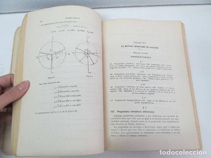 Libros de segunda mano de Ciencias: ALGEBRA PRACTICA. CARLOS MATAIX ARACIL. QUINTA EDICION. EDITORIAL DOSSAT - Foto 10 - 70320597