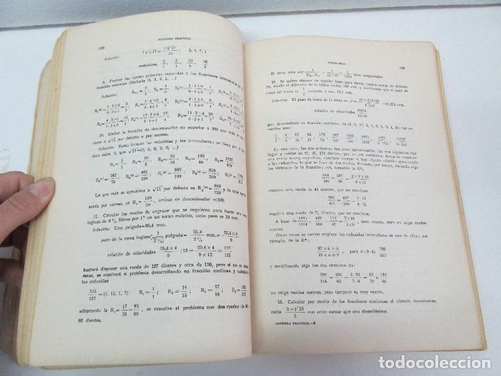 Libros de segunda mano de Ciencias: ALGEBRA PRACTICA. CARLOS MATAIX ARACIL. QUINTA EDICION. EDITORIAL DOSSAT - Foto 11 - 70320597