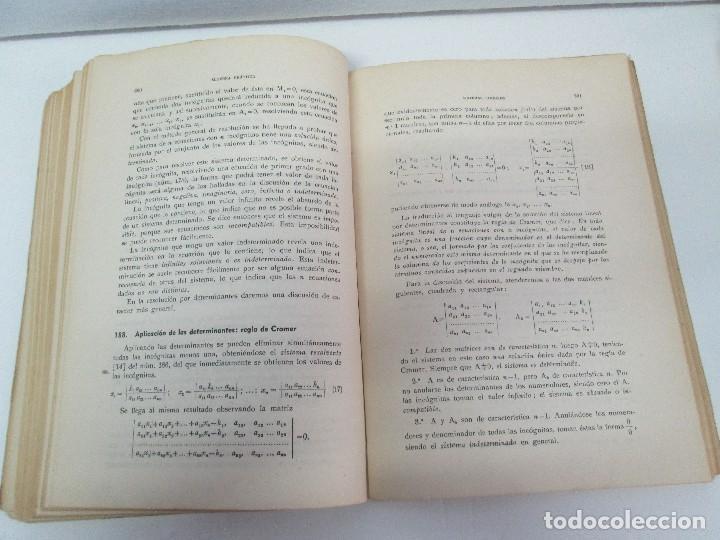 Libros de segunda mano de Ciencias: ALGEBRA PRACTICA. CARLOS MATAIX ARACIL. QUINTA EDICION. EDITORIAL DOSSAT - Foto 13 - 70320597