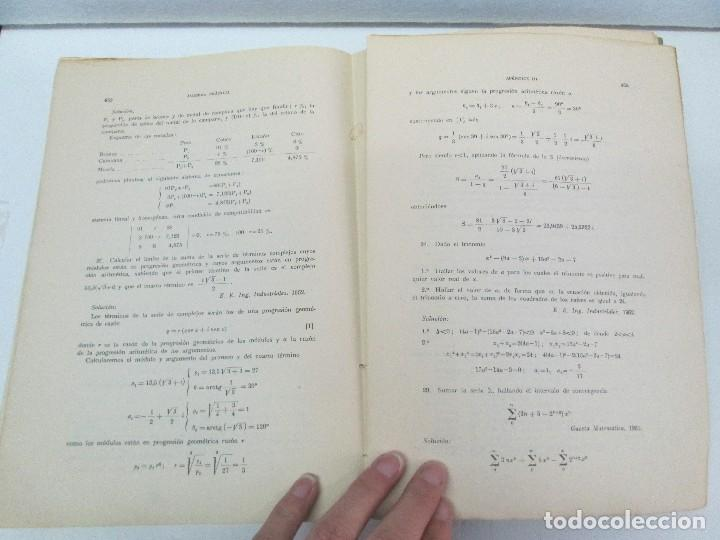 Libros de segunda mano de Ciencias: ALGEBRA PRACTICA. CARLOS MATAIX ARACIL. QUINTA EDICION. EDITORIAL DOSSAT - Foto 15 - 70320597