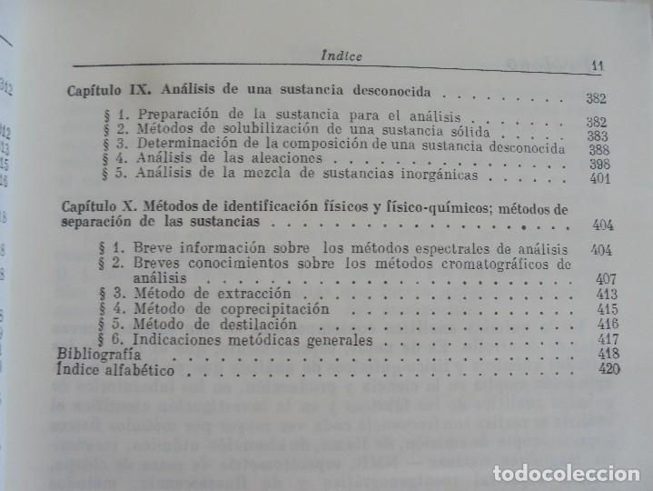 Libros de segunda mano de Ciencias: A. KRESHKOV, A. YAROSLAVTSEV. CURSO DE QUIMICA ANALITICA. ANALISIS CUANTITATIVO ANALISIS CUALITATIVO - Foto 35 - 71258475