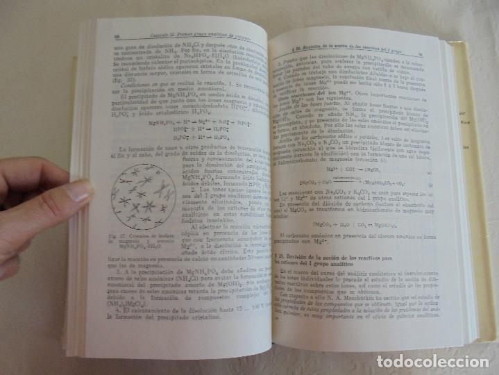Libros de segunda mano de Ciencias: A. KRESHKOV, A. YAROSLAVTSEV. CURSO DE QUIMICA ANALITICA. ANALISIS CUANTITATIVO ANALISIS CUALITATIVO - Foto 36 - 71258475