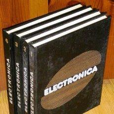 Libros de segunda mano de Ciencias: ELECTRÓNICA ENCICLOPEDIA PRÁCTICA 4T POR DAVID LÓPEZ APARICIO DE ED. NUEVA LENTE EN MADRID 1982. Lote 30372064