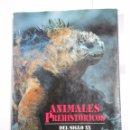 Libros de segunda mano: ANIMALES PREHISTÓRICOS DEL SIGLO XX - MARCO FERRARI Y FULCO PRATESI. ANAYA GRANDES OBRAS. TDK262. Lote 72294671