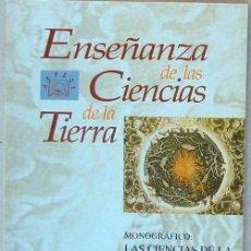 Libros de segunda mano: MONOGRÁFICO: CIENCIAS DE LA TIERRA Y MEDIO AMBIENTE I - REVISTA AEPECT VOL. 6 - Nº 1 / JUNIO 1998. Lote 72740003
