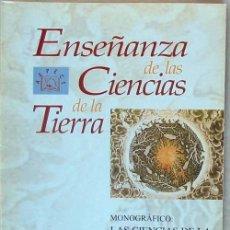 Libros de segunda mano: MONOGRÁFICO: CIENCIAS DE LA TIERRA Y MEDIO AMBIENTE II - REVISTA AEPECT VOL. 8 - Nº 3 / 2000 - VER. Lote 72742251