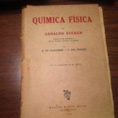Libros de segunda mano de Ciencias: QUIMICA FISICA. Lote 72761003