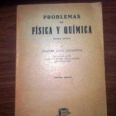 Libros de segunda mano de Ciencias: PROBLEMAS DE FÍSICA Y QUIMICA. Lote 72761499
