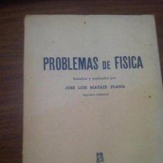 Libros de segunda mano de Ciencias - PROBLEMAS DE FÍSICA RESUELTOS Y EXPLICADOS - 72764183