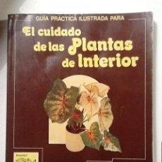 Libros de segunda mano: EL CUIDADO DE LAS PLANTAS DE INTERIOR GUIA PRACTICA ILUSTRADA. Lote 72784191