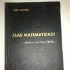 Libros de segunda mano de Ciencias - ¿LAS MATEMATICAS? pero si son muy fáciles. Fred Klinger. Año 1963 -M. E. C. Dirección general de ens - 73421599