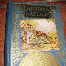Libros de segunda mano - Historia natural popular . ed sopena 1957 . ilustrada 224 grabados y 12 láminas b/n y color - 73697167