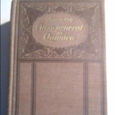 Libros de segunda mano de Ciencias: CURSO GENERAL DE QUIMICA. POR IGNACIO PUIG. QUINTA EDICION. MANUEL MARIN, EDITOR, 1940. TAPA DURA EN. Lote 73987647