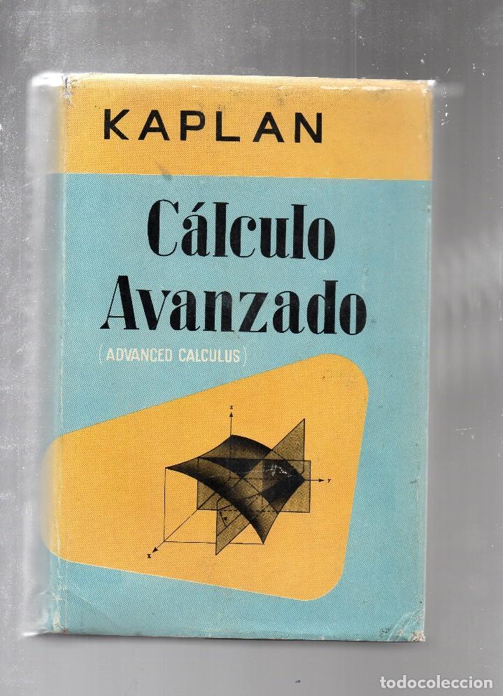 Tf-83  - cálculo avanzado - kaplan - 861 página - Sold