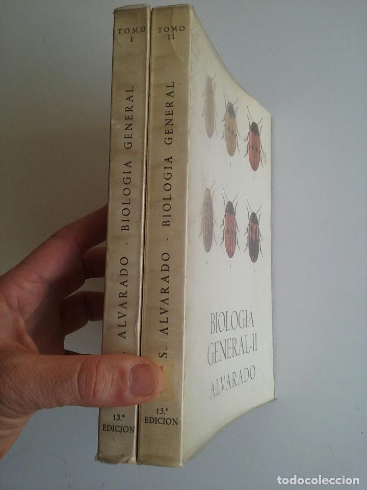 Libros de segunda mano: BIOLOGÍA GENERAL I Y II (2 VOLÚMENES) - SALUSTIO ALVARADO (13ª ED. 1974) - Foto 3 - 74445035